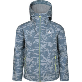 Dare 2b Gifted Softshell Jacket Boys Meteor Grey Shred Print